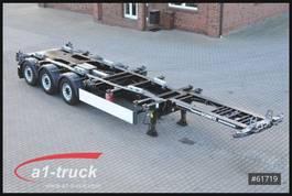 swap body box container Schmitz Cargobull SCF 24 G -45 EURO Multi 20 bis 45 , Front + Heckauszug 2014