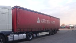 tilt semi trailer Krone SD27  (SAF-AXLES / BELGIAN TRAILER IN GOOD CONDITION) 2003