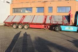 Plattformauflieger Schmidt 3-ass. Schuinlader // Naloop gestuurd 2010