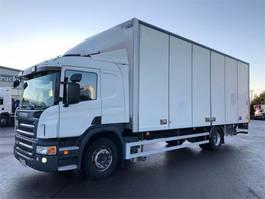 closed box truck Scania P380 4x2 2011