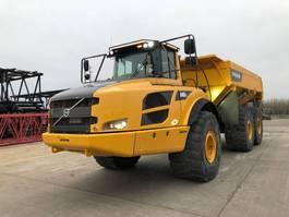 articulated dump truck Volvo A 40 F 2013