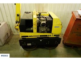 road compactor WACKER NEUSON RD7H-ES roller with few hours 2007