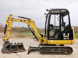 mini digger crawler Caterpillar 301.7D Extra hydraulic functions / low hours 2018