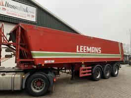 tipper semi trailer Stas 30m3 Kipper, BPW, Luftfederung, Liftachse 1995