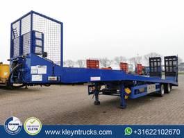 lowloader semi trailer Kempf SPT32/2 2x steer. hydr. ramp 2010