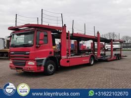 car transporter truck DAF CF 75 310 kassbohrer 9 cars 2007
