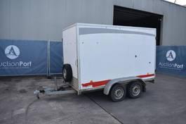 closed box car trailer Anssems /