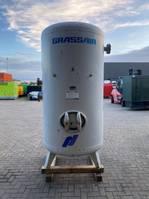 Kompressoren Grassair 3000 liter 11 bar verticale luchtketel 2000
