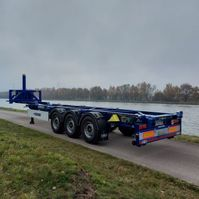 container chassis semi trailer Van Hool 40ft kipchassis