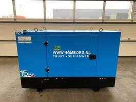 Generator Kohler V15LW Mecc Alte Spa 15 kVA Supersilent generatorset Stage 5 New ! 2020