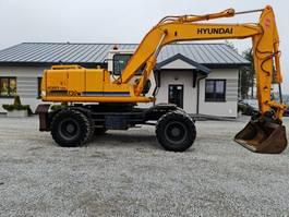 wheeled excavator Hyundai ROBEX 130W 1996