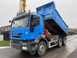 tipper truck > 7.5 t Iveco TRAKKER AD260T450 6X4 EURO 5 + RETARDER - 14,6 M3 2008