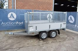 drop side car trailer Anssems 750 kg