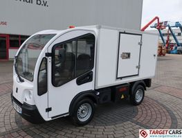 Koffer LKW Goupil G3 Electric Utility Closed Isolated Box Van Tipper 2015