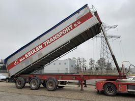 tipper semi trailer Bulthuis TSTA 22 3-axle 60M3 Tipper 1999