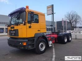 cab over engine MAN 26.464 Steel/Air - German truck - Manual - Hydraulics 2001