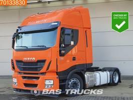 mega-volume tractorhead Iveco Stralis 440 AS440S46 Hi-Way 4X2 Mega 2x Tanks Euro 6 2014