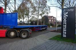 flatbed semi trailer Broshuis 3AOU-48 2000
