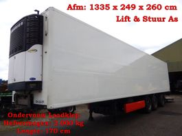 refrigerated semi trailer Krone SDR 27 3 As Koel - Vries Oplegger, OH-26-YP 2005