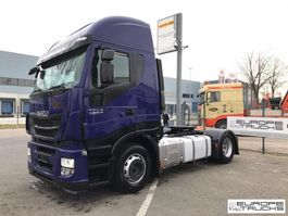 cab over engine Iveco Stralis 460 German truck - 2 Tanks - Retarder - Euro 6 2014