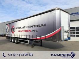 sliding curtain semi trailer Groenewegen DRO-14-27 / 3 axle BPW DRUM / Curtainsider / Hardwood / Topcondition!! 2008