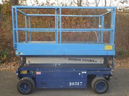 scissor lift wheeld Holland Lift Y83EL 1990