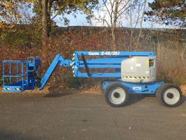articulated boom lift wheeled Genie Z-45/25 J RT 2007