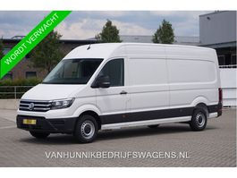 closed lcv Volkswagen Crafter 35 2.0 L4H3 140PK Automaat €443 / Maand Airco, Cruise, LED, Trekhaak!! N... 2020