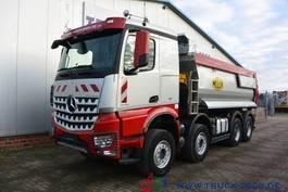 tipper truck > 7.5 t Mercedes-Benz Arocs 4145 8x4 Meiller hydr. Klappe 98.562 tkm 2017