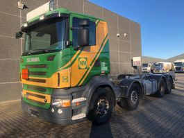 chassis cab truck Scania R500 8x2/6 2008