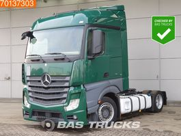Volumen -Jumbo SZM Mercedes-Benz Actros 1836 LS 4X2 Mega Retarder 2x Tanks Euro 6 2014