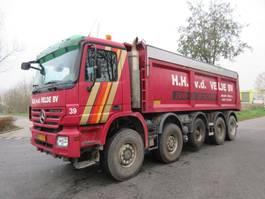 tipper truck > 7.5 t Mercedes-Benz ACTROS 5048 AK 10X8 EURO 5 2008