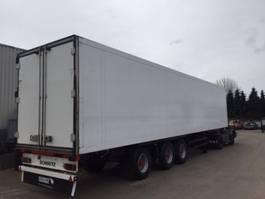 refrigerated semi trailer Schmitz Cargobull stuuras , multitemperatuur ,liftas , bloemenbreedt
