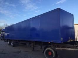 closed box semi trailer Schmitz Cargobull 2 assen Tridec gestuurd volledig chassis laadklep alluminium vloer