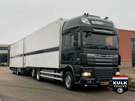 refrigerated truck DAF XF 105 460 / FRIGO COMBI / TRS ICELAND VAN ECK 2012
