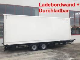 closed box trailer Möslein TKO 105 DL Schwebheim  Tandem Koffer,Ladebordwand + Durchladbar 2016