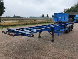 Container-Fahrgestell Auflieger HFW 2x20 - 40 - 45FT / 4245KG 2002