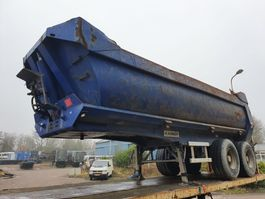 tipper semi trailer Kaiser Steelspring - Drumbrakes 2005