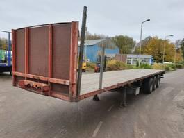 flatbed semi trailer Groenewegen SAF - DRUM - Tambour 1992