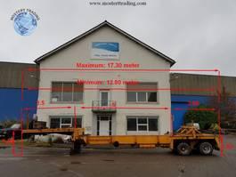semi lowloader semi trailer Goldhofer 5 Meter Extendable! 1993