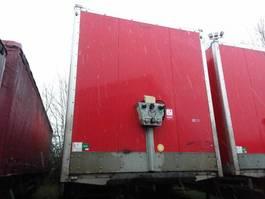 closed box semi trailer Samro Semitrailer Dryfreight box Roldeur Hydr. laadklep 2011