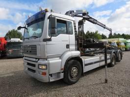 tipper truck > 7.5 t MAN TGA 26.400 6x2*4 HMF763K2 2007