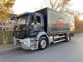 tilt truck Mercedes-Benz AXOR 1829 Getränkewagen LBW / EURO 4 2007