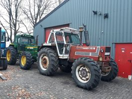 farm tractor Fiat 180-90 dt 1990