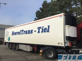refrigerated semi trailer Van Eck 3 ass koel/vries oplegger Carr Vector 1800 2004