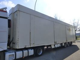 closed box semi trailer Lecitrailer 3E19MD DOUBLE ETAGE/DOPPELSTOCK/TWO FLOOR 2005