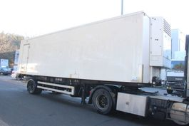 refrigerated semi trailer Renders 1-AS CITY FRIGO + THERMOKING - STEERING AXLE - BOX 9m40 - BELGIAN PAPERS 1995