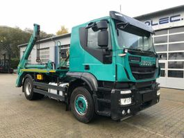 Container-LKW Iveco 460 PS 4x2 Euro 6 Absetzkipper Meiller AK12 2014