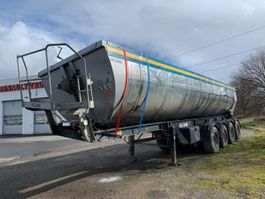 tipper semi trailer Kel-Berg T 48 S4.   Hardox