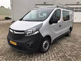 closed lcv Opel VIVARO BUSINESSVAN DUBCAB AIRCO NAVI 2016